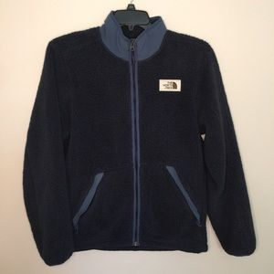The Northface Campshire Full Zip Sherpa Jacket